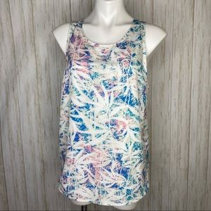 Lovers + Friends printed strappy back tank top